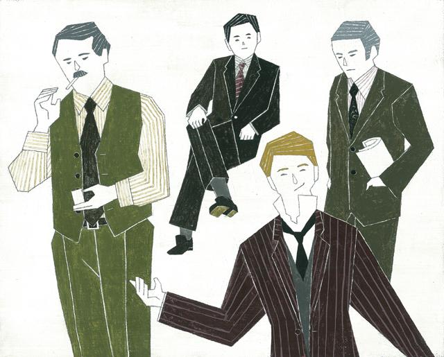 スーツの男性2