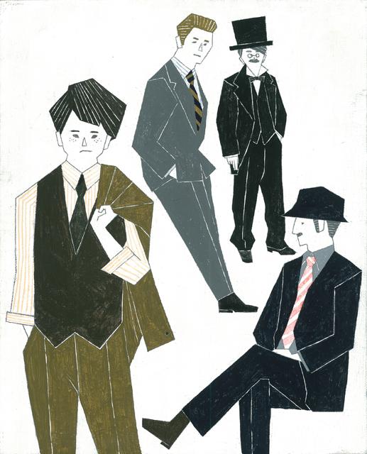スーツの男性1