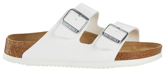 Arizona Soft Footbed White Birko Flor
