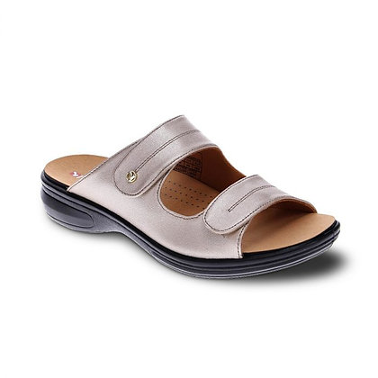 Florence Sandal Champagne Leather