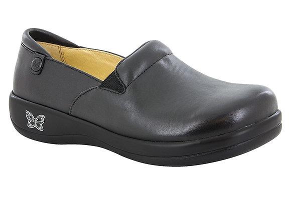 Kelli Smooth Black Leather