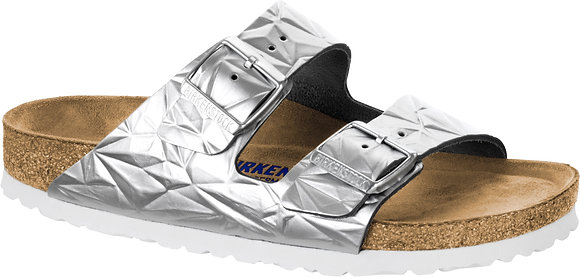 Arizona Soft Footbed Spectral Silver Leather