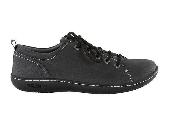 Islay Asphalt Nubuk Leather