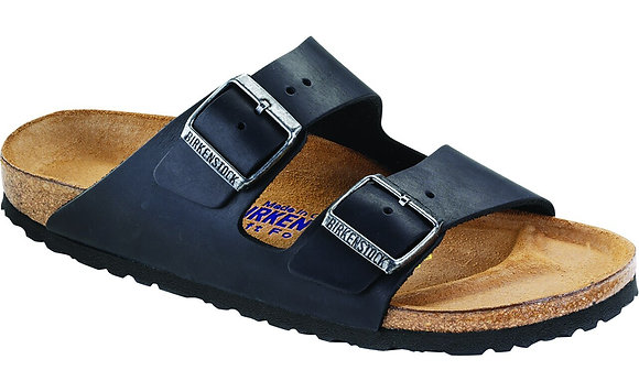 Oiled Navy Leather