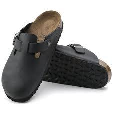 Boston Soft Footbed Black Leather