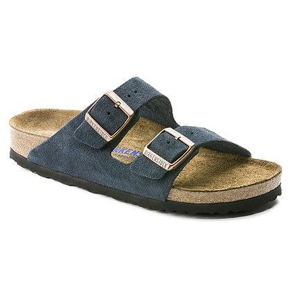 Arizona Soft Footbed Blue Stone Suede