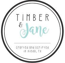 Timber and Jane logo copy - Ryan Aldridg