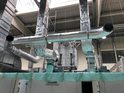 Využití odpadního tepla sušárny KL3