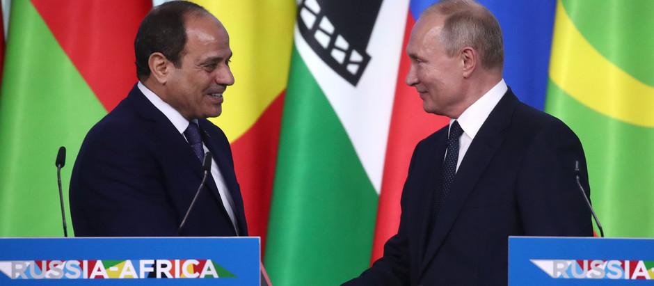 Россия и Африка подписали контракты на 800 миллиардов рублей.