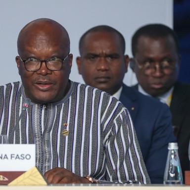Делегация Буркина-Фасо на саммите