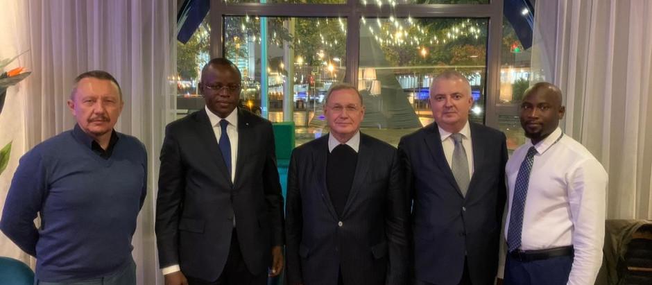 АЭССА провела встречу в Москве с министром спорта Республики Сенегал