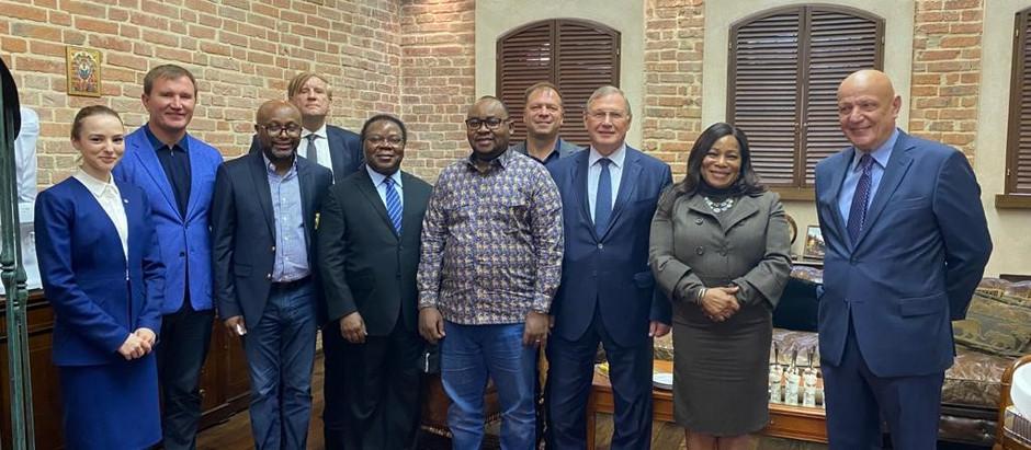 АЭССА провела встречу с делегацией Демократической Республики Конго