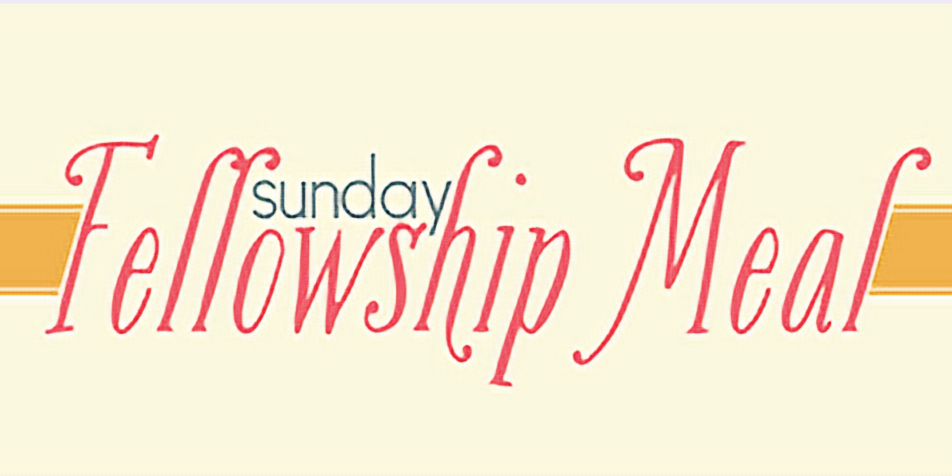 Sunday Fellowship Meal