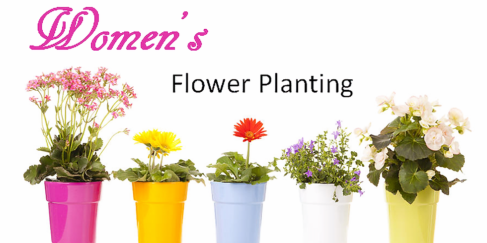 Flower Planting Party