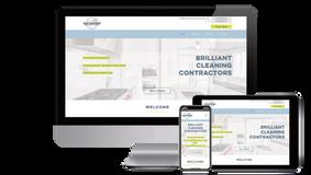 Brilliant Cleaning Contractors Website