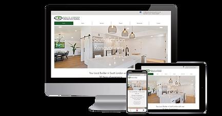 South London Renovations Website Design