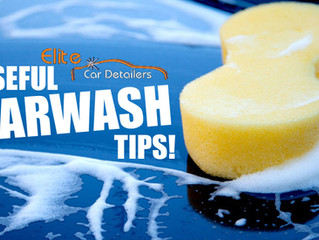 7 Useful Carwash Tips