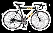 Yellow Stripes Bike