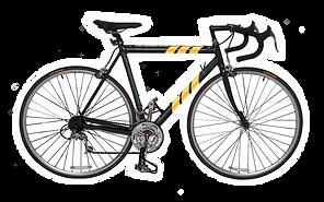 Yellow Stripes bicicleta