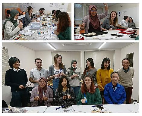 箸絵付けと箸ゲーム体験会を開催しました
