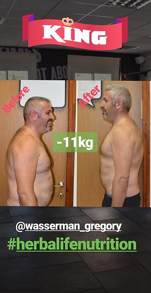 ירידה באחוזי שומן