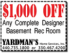 Yardmans Coupon $1000 Off Finished Basement