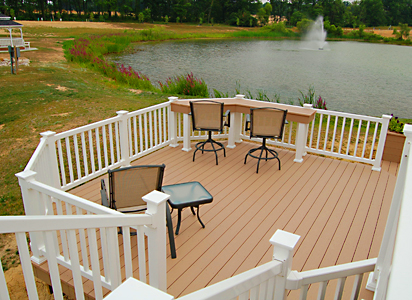 Custom Composite Deck, Aurora Ohio b