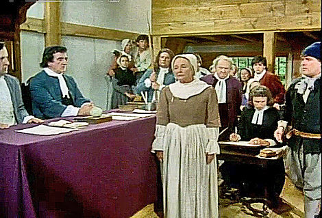 Rebecca Nurse, Salem Witch Trials, 1692, PBS, THREE SOVEREIGNS FOR SARAH, sentenced to hang, Victor Pisano