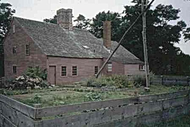 "Rebecca Nurse homestead as it looks today - a true ""living"" museum."