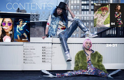 Ellements Magazine and Livid Magazin