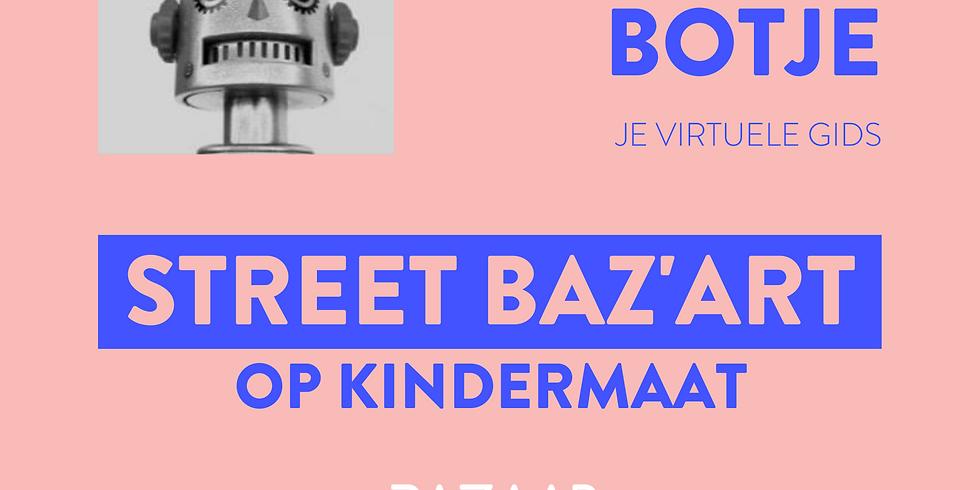 STREET BAZ'ART BOTJE op kindermaat