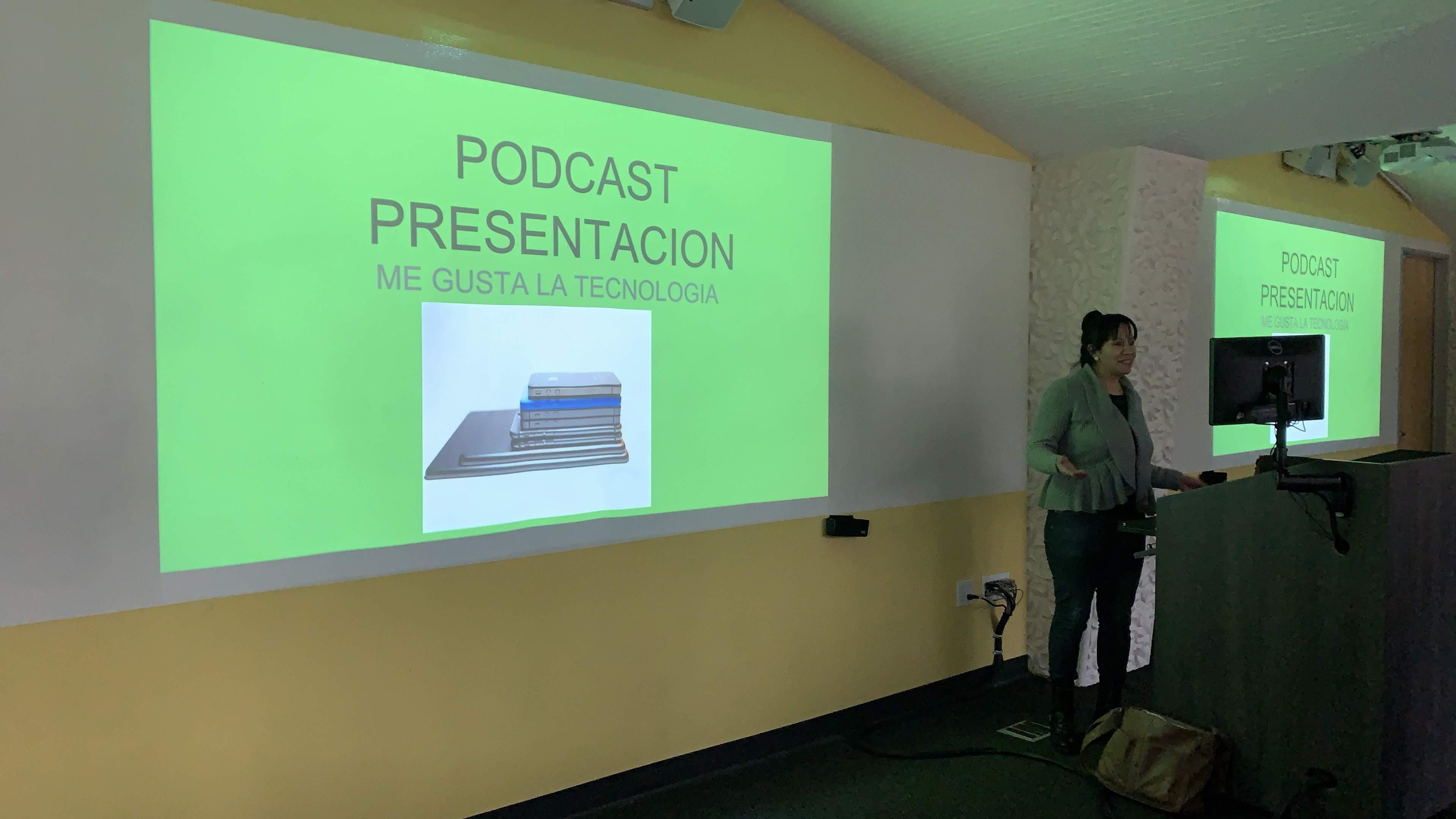 Presentations in class
