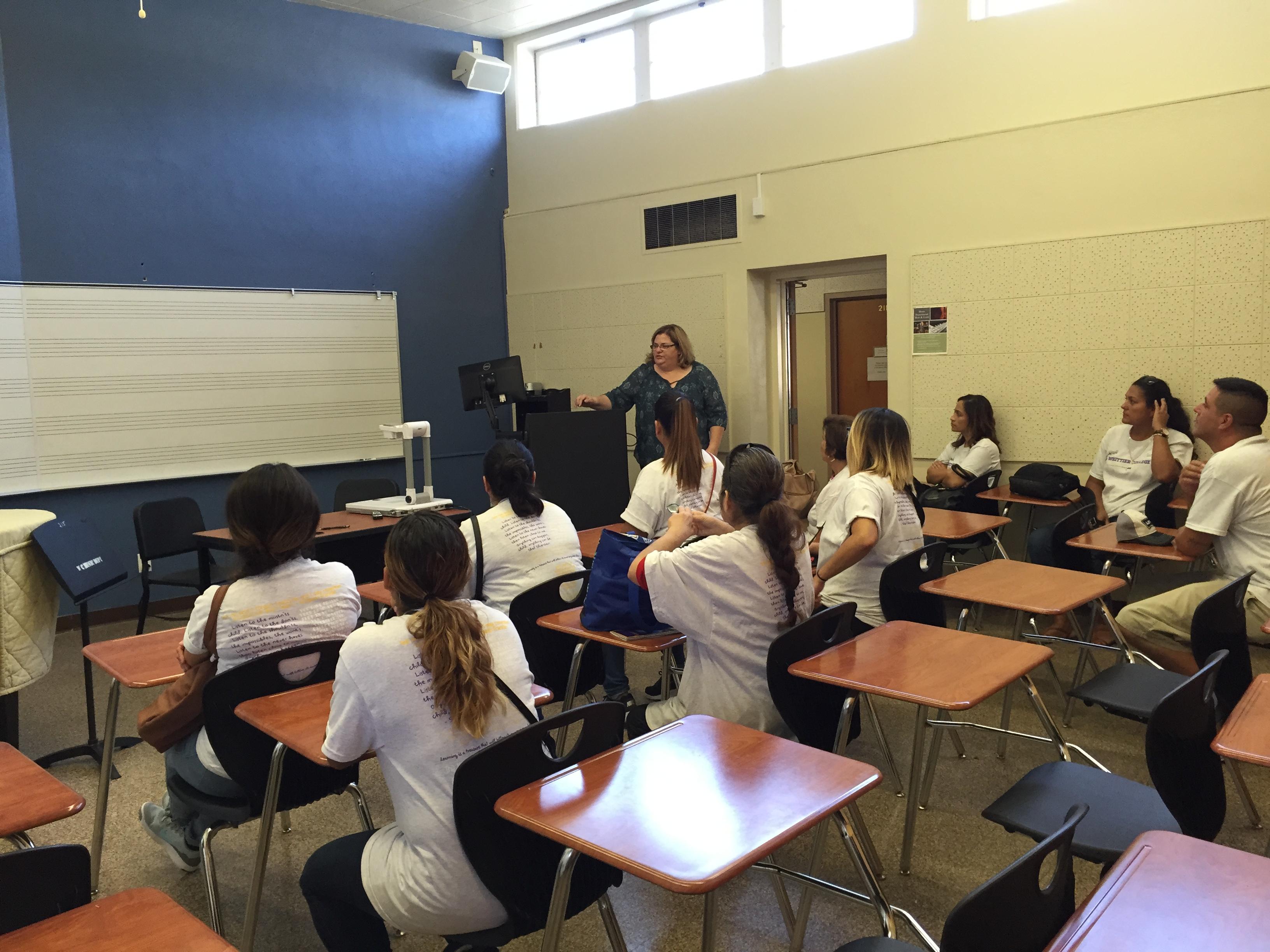 Sitting in a Music Class!