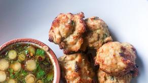 Asian Chicken Meatballs- Whole30, Paleo