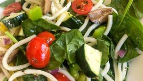 "Greek ""Pasta"" Salad- Whole30, Paleo"