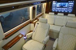 Interior Sprinter with Bench Seat