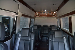 CEO Style Seating - Black Interior