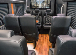 15 Seater Deluxe Back View