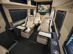 CEO Sprinter Back View Captain Chairs