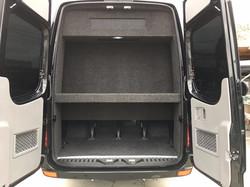 Trunk Space Mercedes Sprinter Van