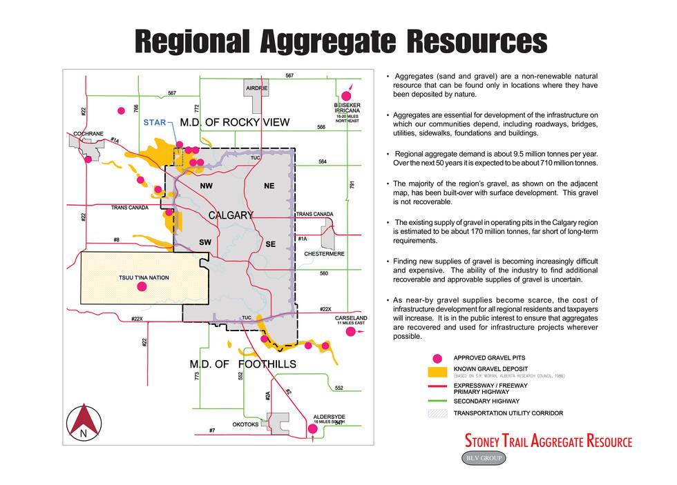 Regional Aggregate Resources