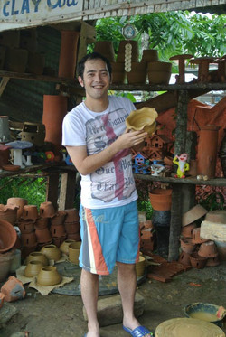 Clay Pottery Making
