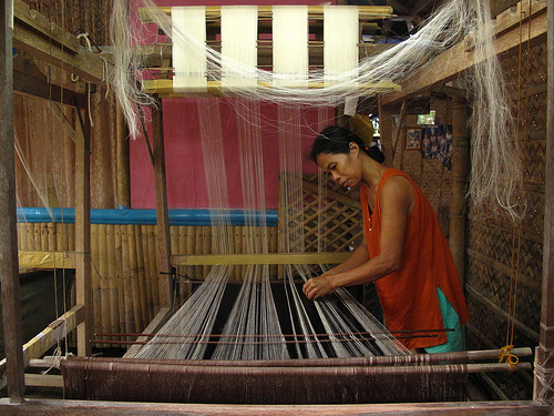 Pina Cloth Weaving