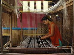 Pina Cloth Weaving