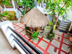 Courtyard with Garden Gazebo