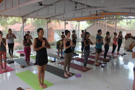 Yoga class - Classe Yoga
