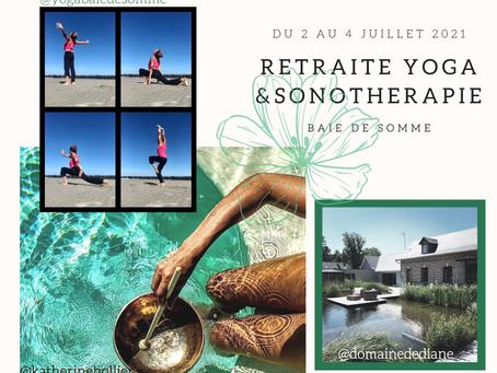 Retraite Yoga et Sonothérapie