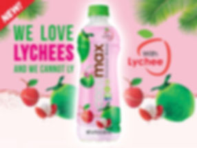 Cocomax with Lychee