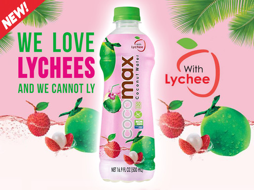 Introducing Cocomax with Lychee