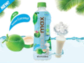Cocomax with pressed coconut